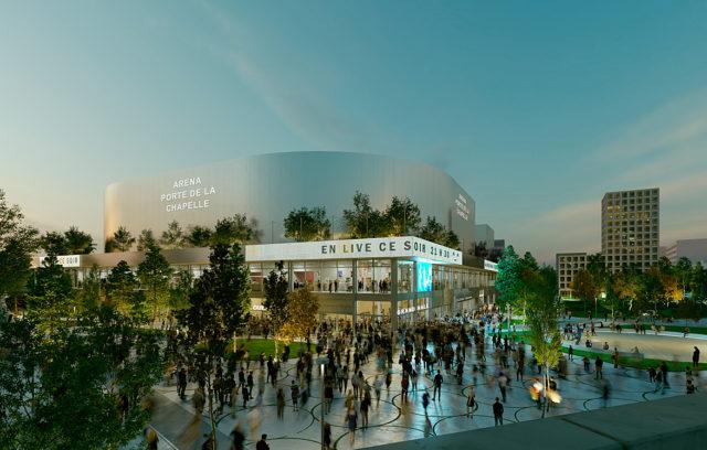 Visitez la future Arena Porte de la Chapelle !