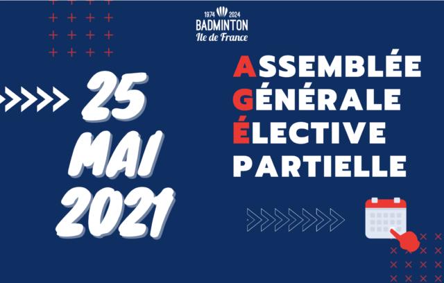 Assemblée générale élective partielle 2021