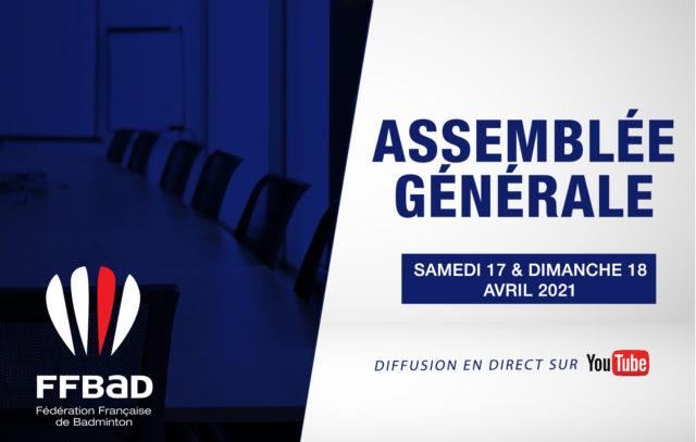 Replay de l'assemblée générale FFBaD