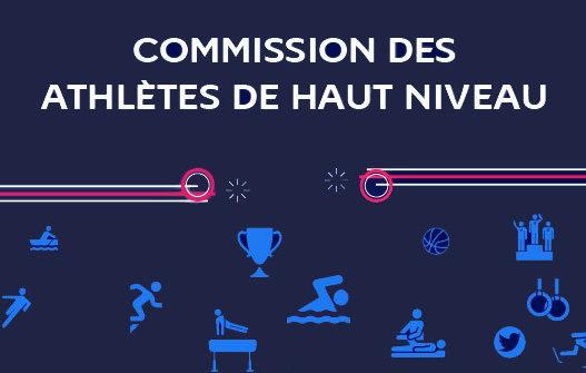 CNOSF : Composition de la commission des athlètes de haut-niveau (CAHN)