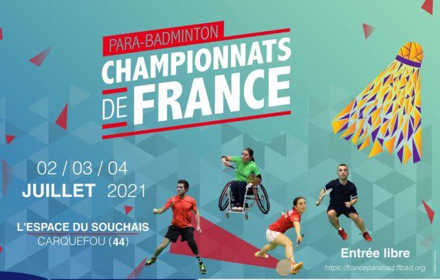 Championnat de France Parabadminton 2021