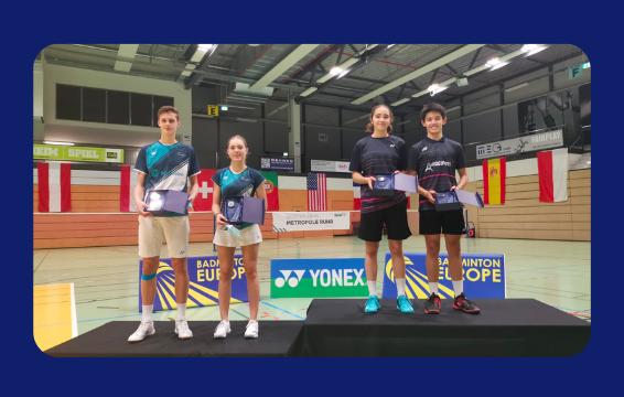 De beaux résultats aux German Open U15-U17-U19